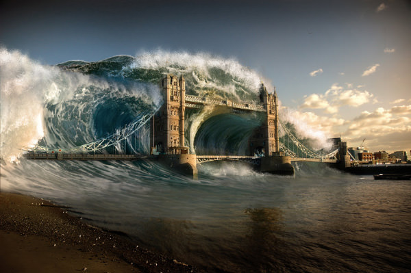 Tsunami in London
