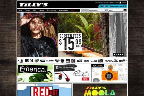 Tillys News on ecommerce
