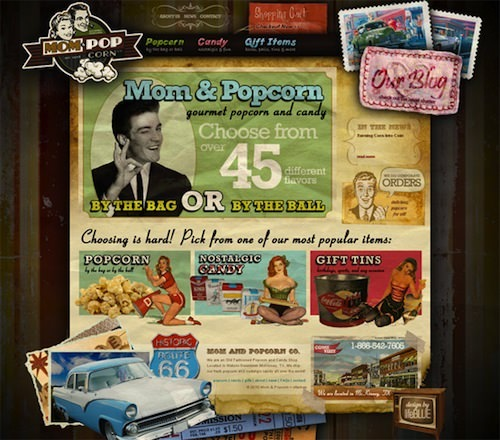 Mom and Popcorn Brand Products
