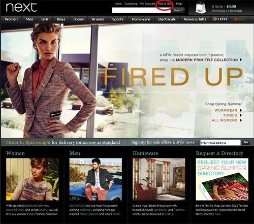 Next Store Finder