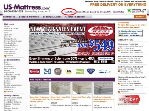 US Mattress How to Guide