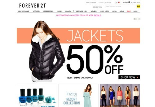 Forever21 Free Shipping Discount