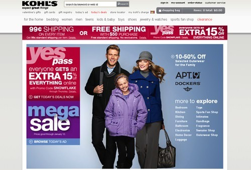 Kohls Deal Shipping