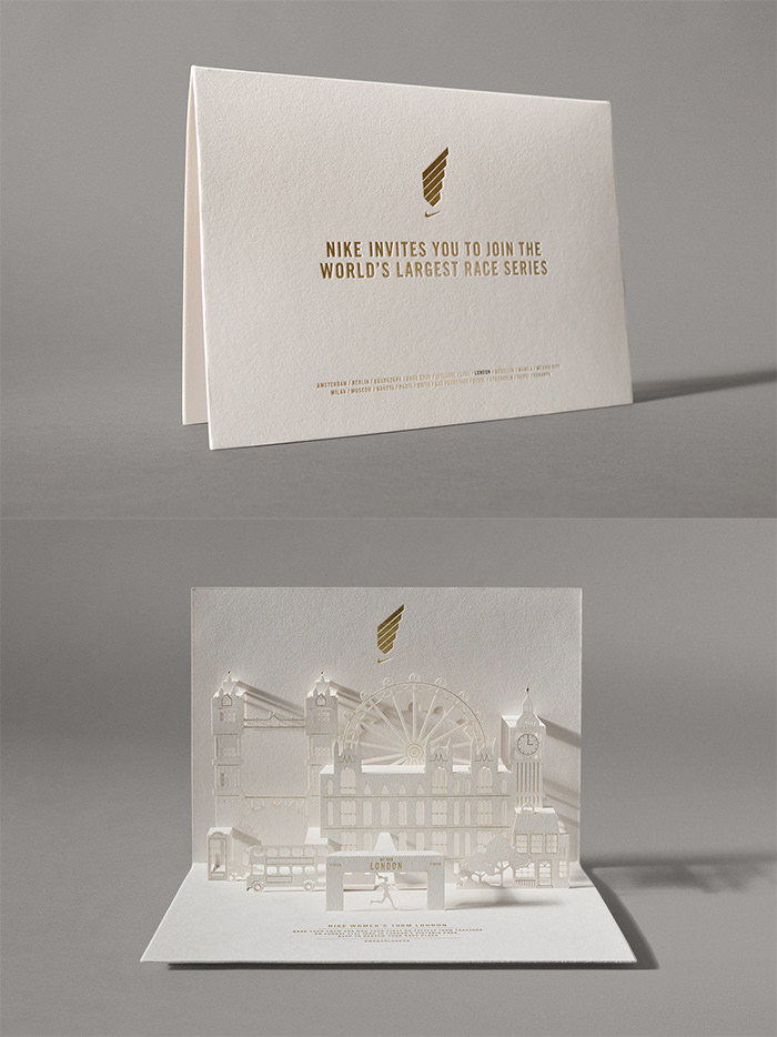 20 event invitation designs to impress your guests hongkiat modern origami wedding invitation stopboris Images