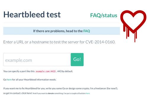 Filippo Heartbleed Test