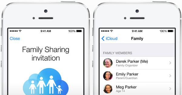 ios family sharing