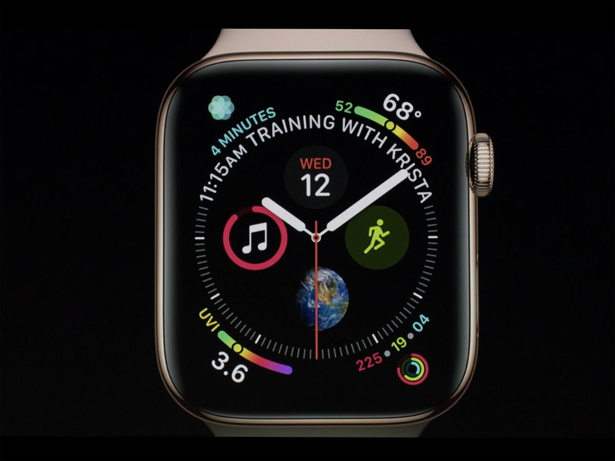 series 4 apple watch with 8 complications