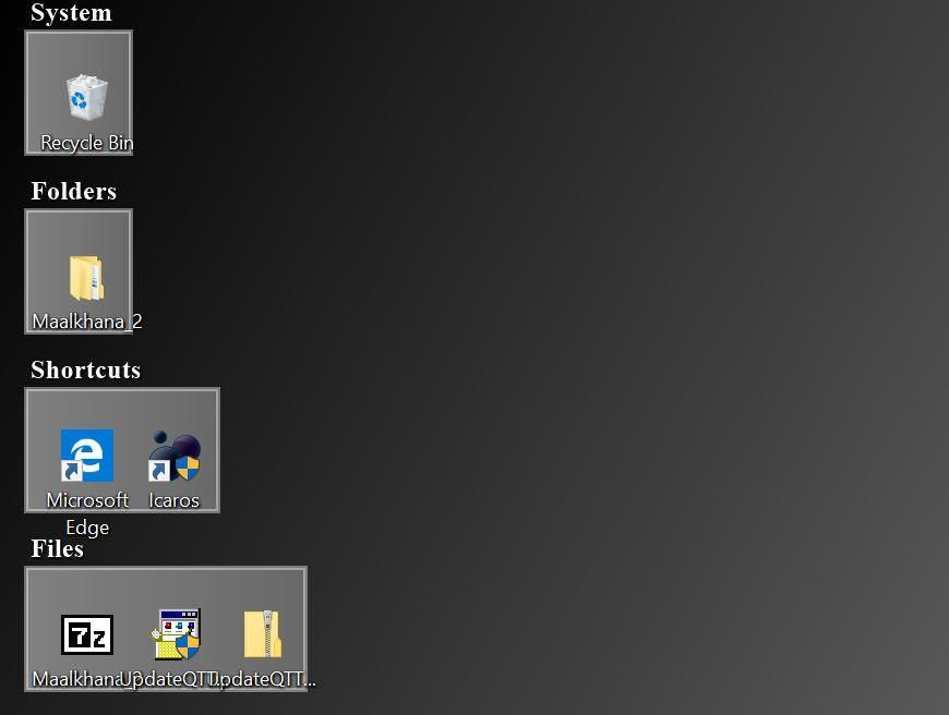FilerFrog Sort Desktop option on Windows 10