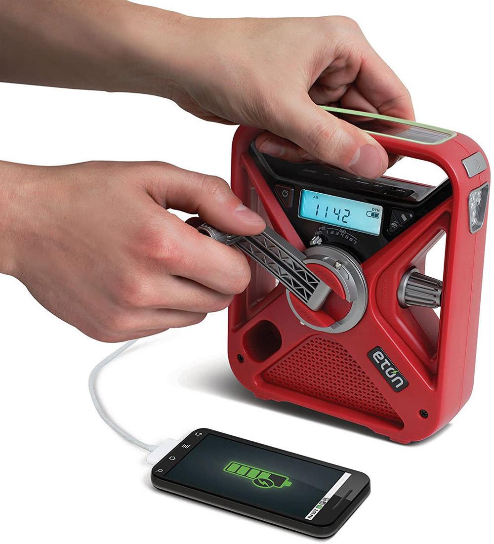 Hand Turbine Smartphone Charger