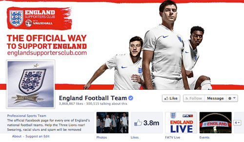 Facebook England Team