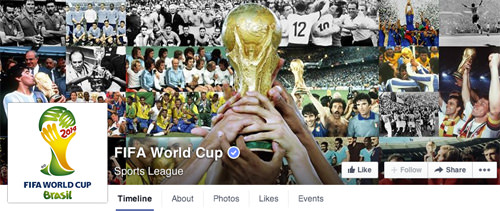 Facebook FIFA World Cup