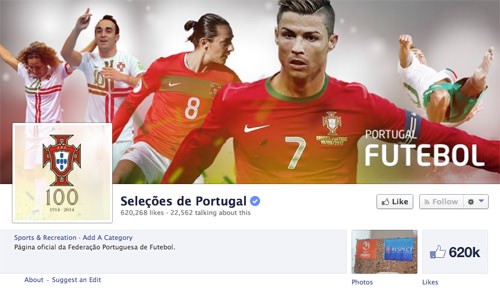 Facebook Portugal Team