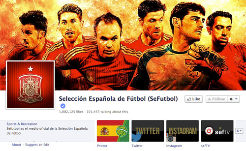 Facebook Spanish Team