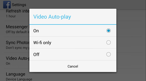 Choose Your Video Autoplay Option