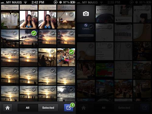 Select Photos or Take Photo