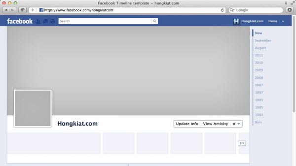 Facebook Timeline Cover  Really Creative Examples  Hongkiat
