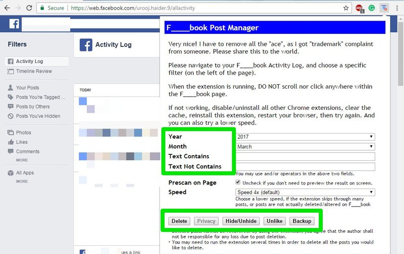 bulk manage posts
