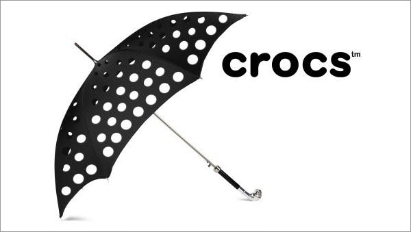 crocs umbrella