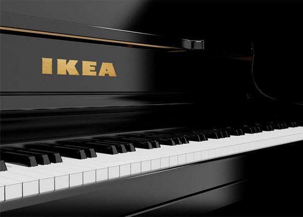 ikea piano