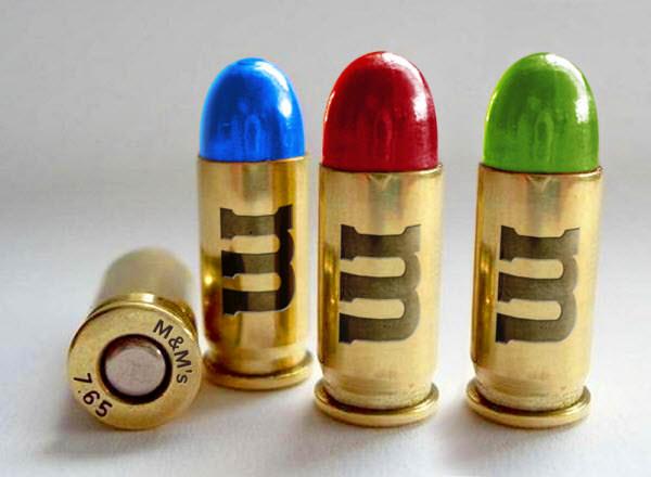 m&m's bullet