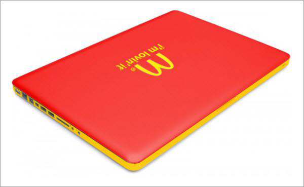 mcdonald's macbook