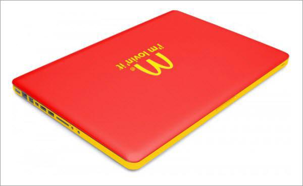 mcdonald's macbook