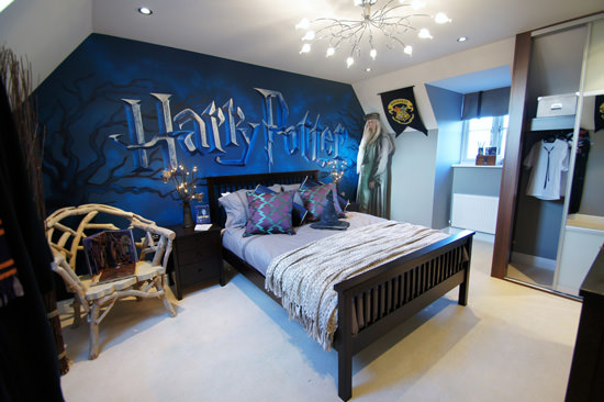 Interior Themed Bedrooms 25 fantasy bedrooms geeks would die for hongkiat harry potter