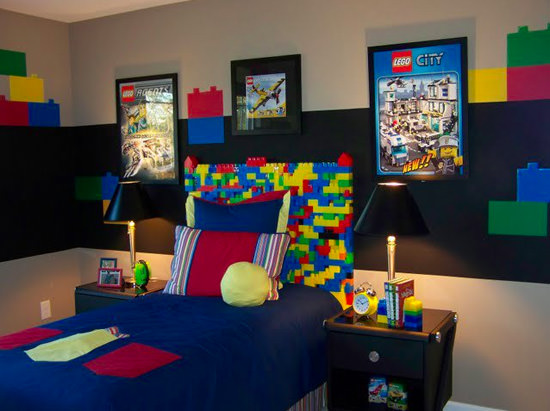 Legos Inspired Bedroom
