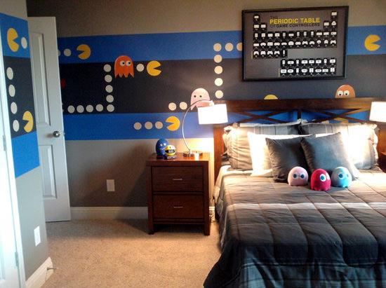 Pacman Bedroom