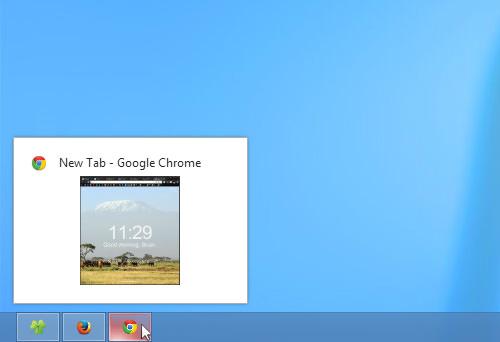 Taskbar Preview