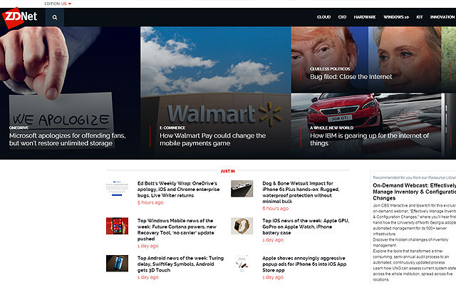zdnet featured posts widget