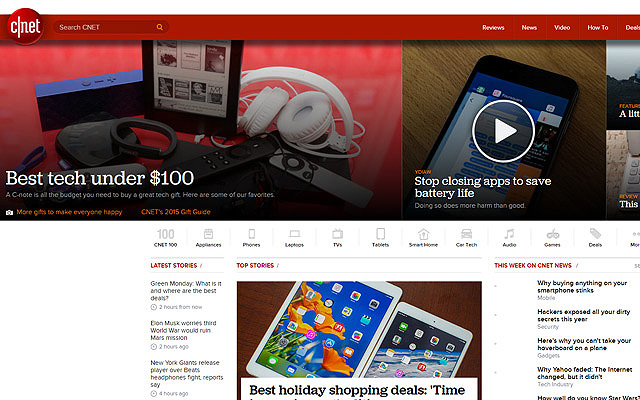 cnet magazine website