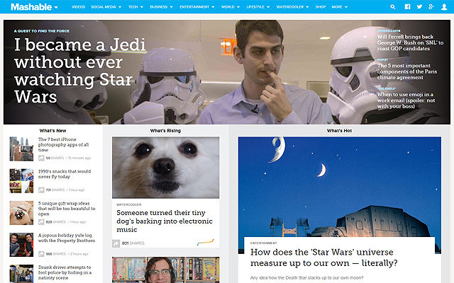 mashable featured posts