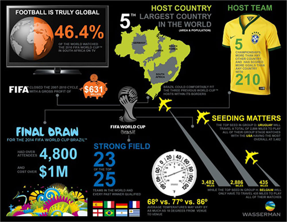 2014 FIFA World Cup Infographics