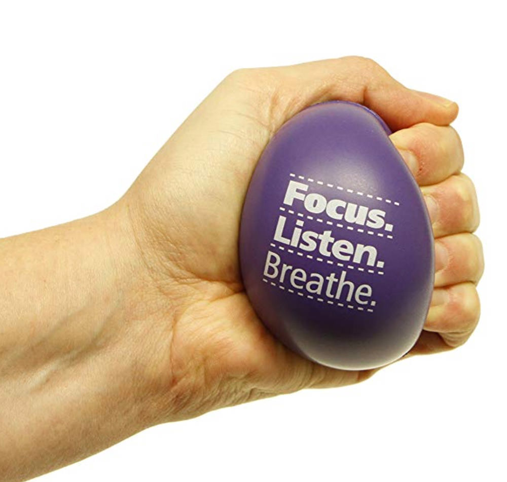 notivational stress ball