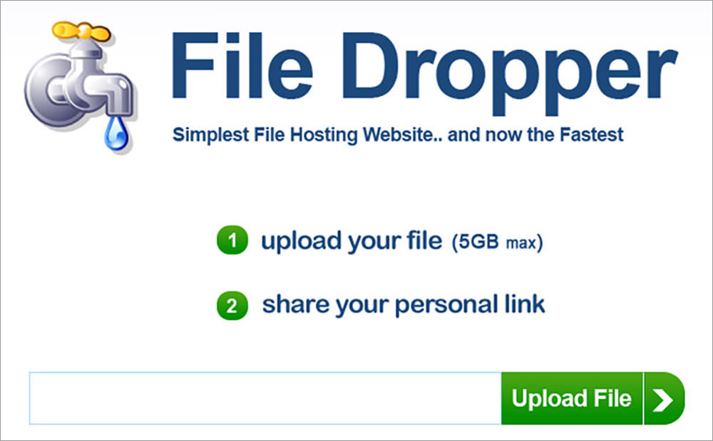 share large files online free 5gb