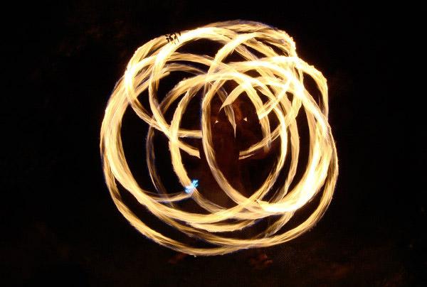 Burning Rings