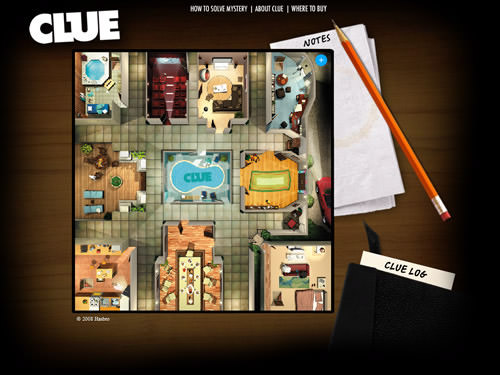 CLUE Virtual Mansion