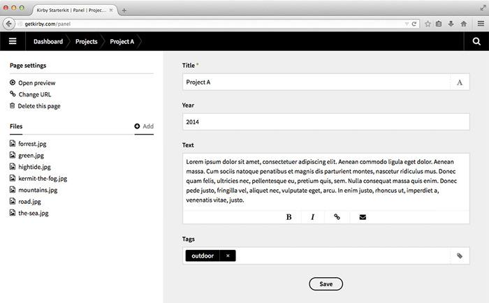 kirby - بهترین Flat CMS برای ساخت وبسایت های سبک - CodeFriend.ir
