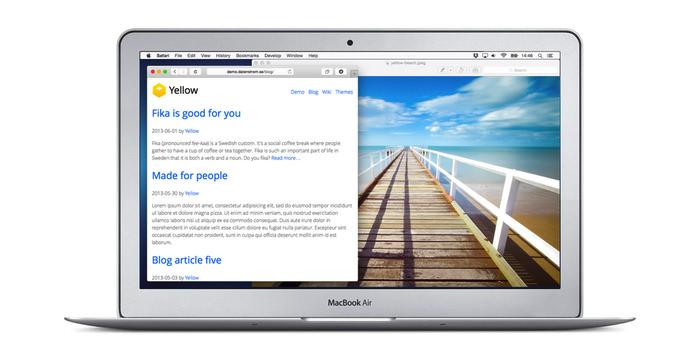 بهترین Flat CMS برای ساخت وبسایت های سبک - CodeFriend.ir