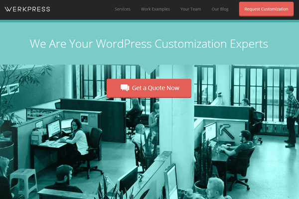 werkpress wordpress theme customization studio