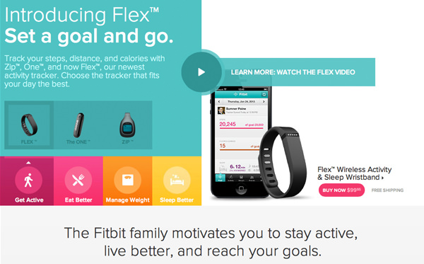 exercise webapp homepage layout interface flat