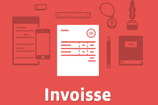 flat website layout design inspiration invoisse startup