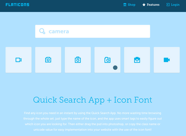 flat icons set homepage interface designs
