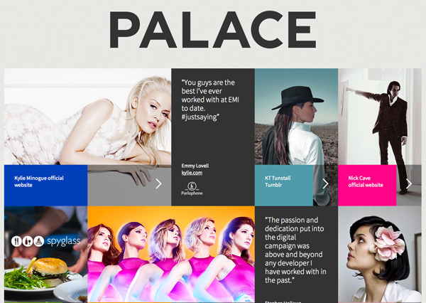 palace exceptional design studio flat website