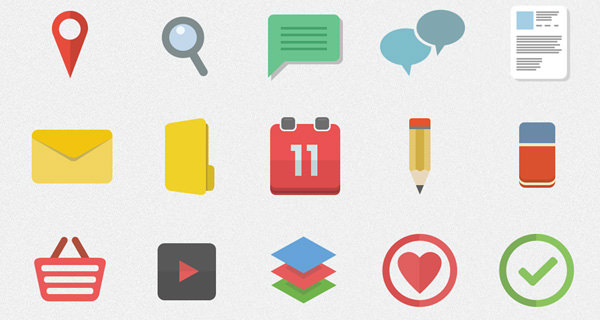 flatilicious icon set freebie psd download flat ui