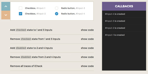 icheck jquery open source plugin radio checkboxes flat ui