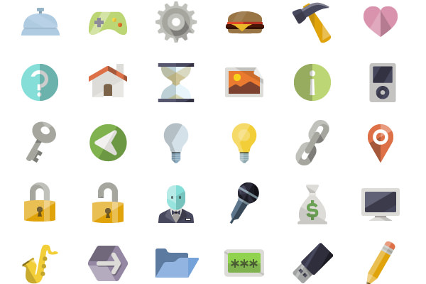 iconshock flat freebie icons ui psd