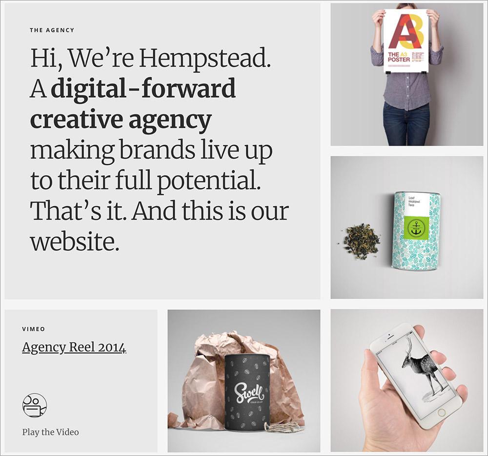 Hempstead wordpress theme