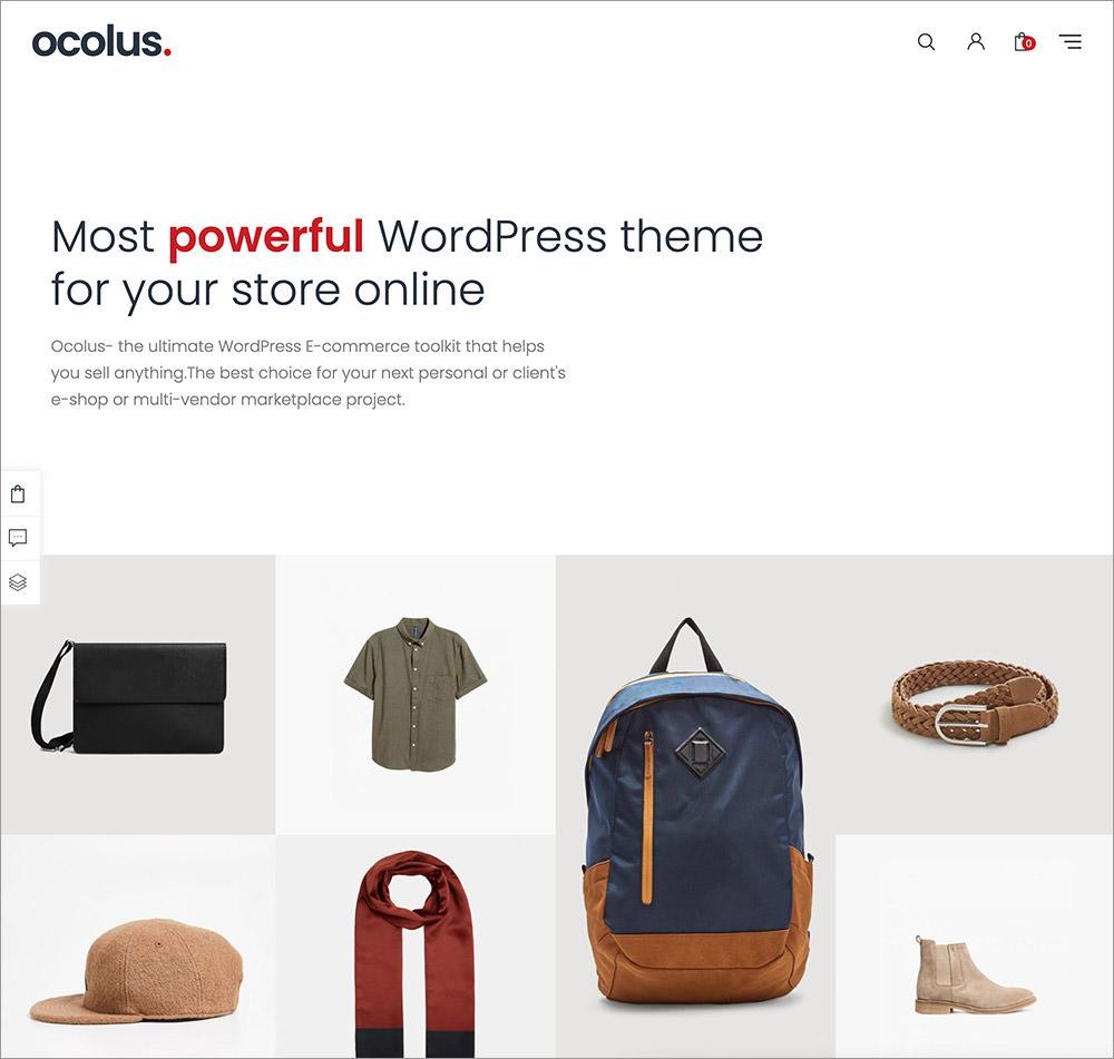 Ocolus wordpress theme